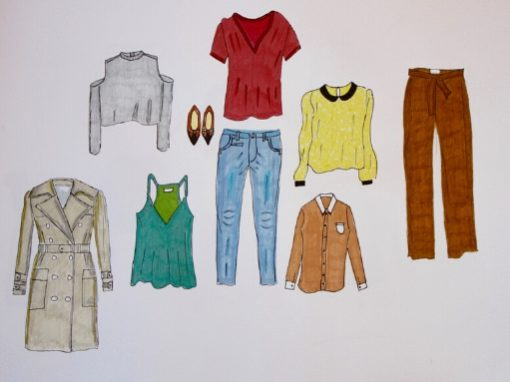 Look Book Croquis